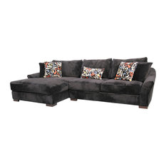 Transitional Sectional Sofas Houzz