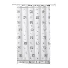 Rideau de douche moderne - Rideau de douche en tissu impermeable ...