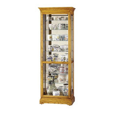 "Howard Miller - Howard Miller Chesterfield II Curio Cabinet - Howard Miller 78"" Chesterfield II ..."