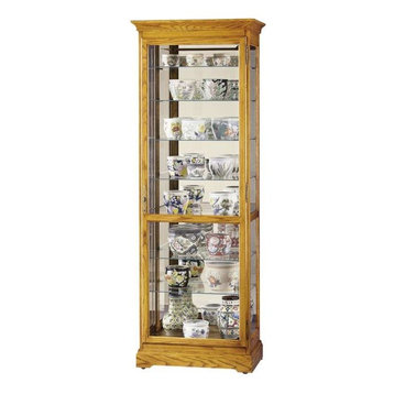 "78"" Chesterfield II Curio Cabinet. The Chesterfield II Display Cabinet ..."