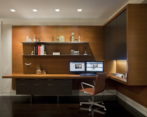 Modern Home Office Design Ideas Remodels Photos