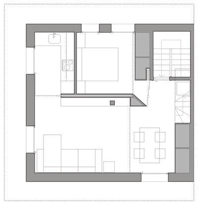 Houzzbesuch helles dachgeschoss mit cleveren l sungen in for Fenster gemeinschaftseigentum