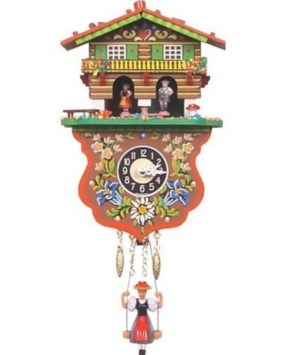 Guest picks quirky clocks for the nursery - Funky cuckoo clock ...