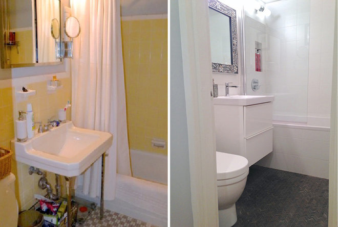 Before/After Bathroom