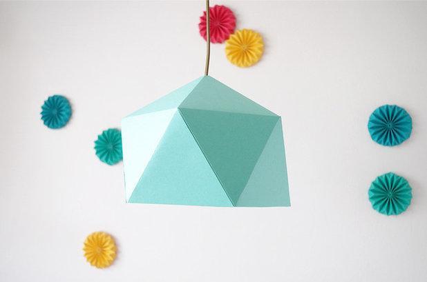 diy fabriquez vous m me un abat jour en origami. Black Bedroom Furniture Sets. Home Design Ideas