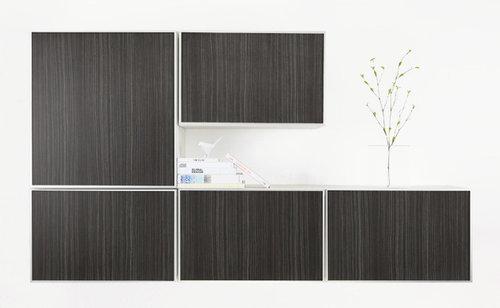 IKEA BESTA Cabinets w/PANYLed Tombo Doors