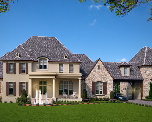 Luxury french country house plan for Luxury country house plans