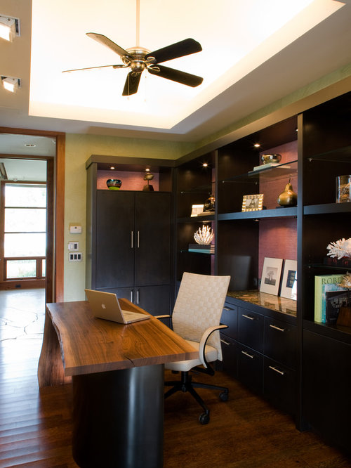 Eclectic Hawaii Home Office Design Ideas Remodels Photos