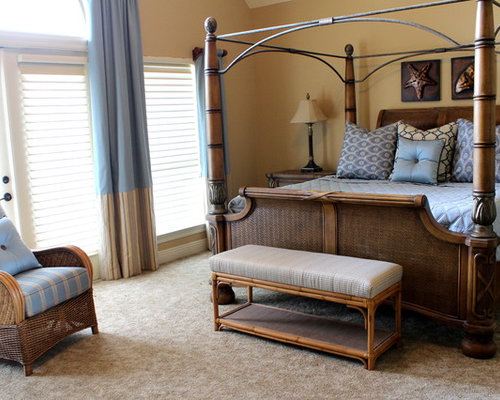 Beach style new orleans bedroom design ideas remodels - New orleans style bedroom decorating ideas ...
