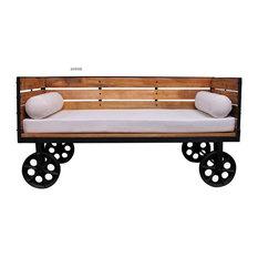 Lits et têtes de lit industriels