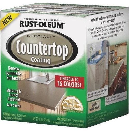 Rustoleum Countertop Paint Application : of looking at that old countertop. With Rust-Oleum Countertop coating ...