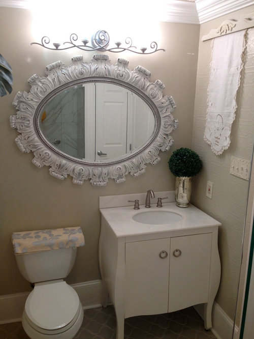 Shabby Chic Style New Orleans Bath Design Ideas Pictures Remodel Decor
