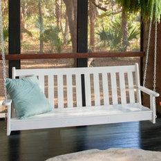 POLYWOOD - POLYWOOD® Vinyard Recycled Plastic 5 ft. Porch ...