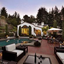 Spanish Style Pools + Cabanas