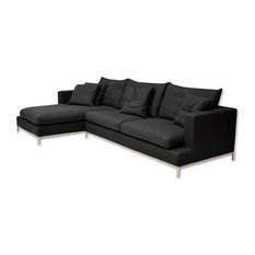 sectional sofas with removable cushions houzz