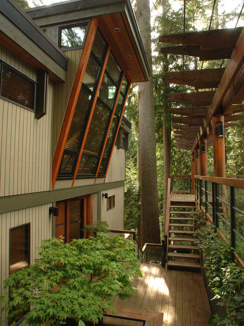 Wood Overhang Home Design Ideas Pictures Remodel And Decor
