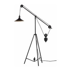 Industrial Floor Lamps Houzz