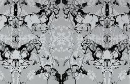 Zephyr Zebras Wallpaper