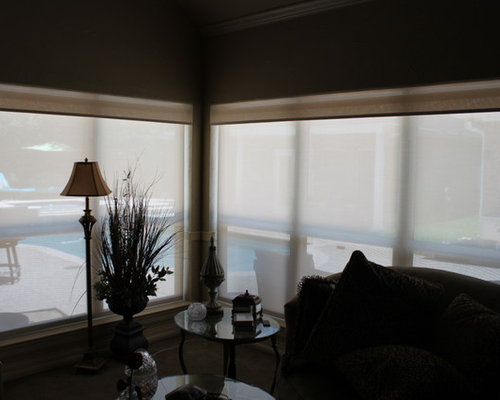 Motorized blackout shades home design ideas pictures for Motorized solar shades reviews