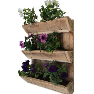 Rustic Outdoor Pots And Planters by (del)Hutson Designs