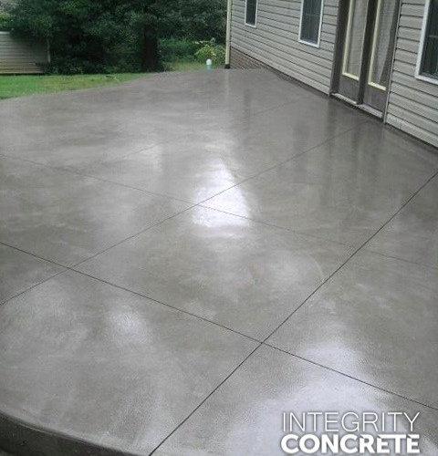concrete patio finish home design ideas pictures remodel and decor. Black Bedroom Furniture Sets. Home Design Ideas