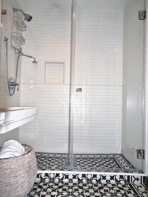 Contemporary Spanish Style Bathroom
