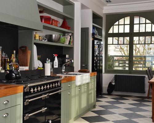 cuisine am nag e sur mesure style anglais. Black Bedroom Furniture Sets. Home Design Ideas