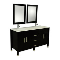 popular Espresso finish.The three drawers each have soft close hinges ...