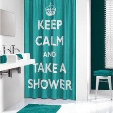 moderne duschvorh nge. Black Bedroom Furniture Sets. Home Design Ideas