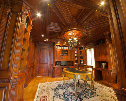Formal Library Home Design Ideas Pictures Remodel And Decor