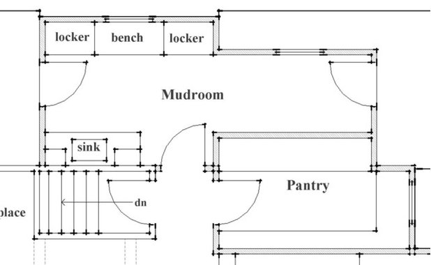 How to read a floor plan for Floor meaning in english