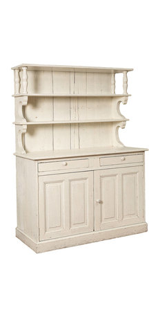 Eco First Art - French White Cupboard - French White Painted Country ...