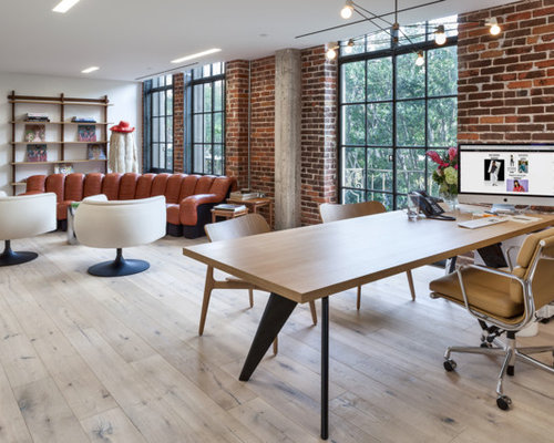 Nasty gal offices antique white for Houzz corporate office
