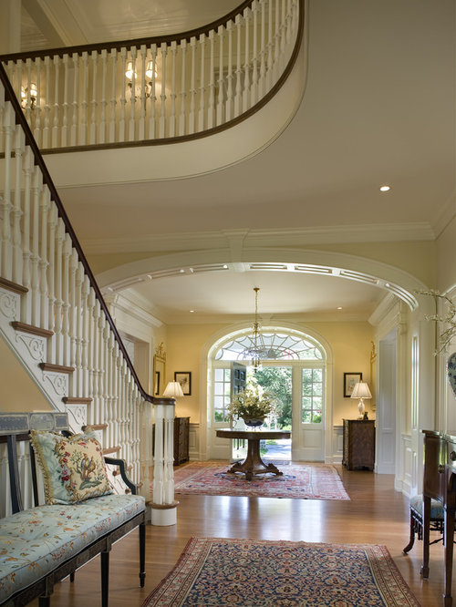 Houzz Elegant Foyers : Round foyer home design ideas pictures remodel and decor