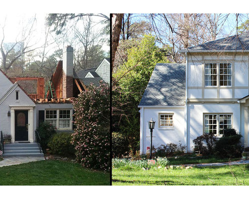 Additions Second Story Before & After s