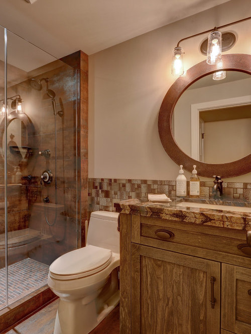 Small rustic 4 piece bathroom design ideas remodels for 4 piece bathroom designs
