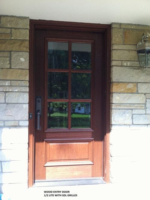 Pella Wood Entry Door