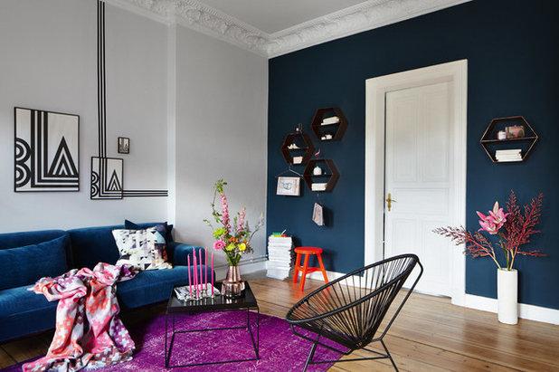 couleur d 39 automne l 39 l gance du bleu plume de paon. Black Bedroom Furniture Sets. Home Design Ideas