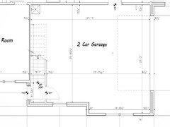 Minimum garage size for 2 suvs for 2 car garage dimensions minimum