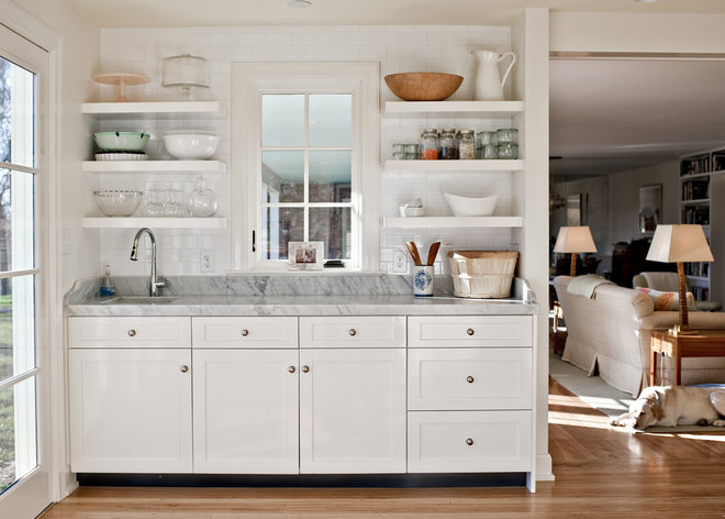 Traditional Kitchen by Rock Paper Hammer