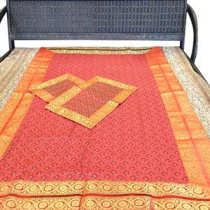mogulinterior - Bedspread Bedcover, Twin Size - Brocade Silk