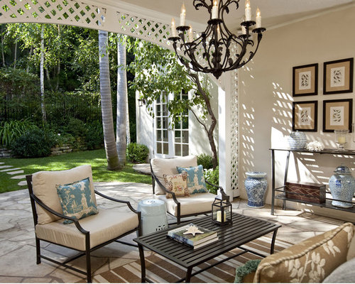 Lattice arch home design ideas pictures remodel and decor for Traditional garden furniture