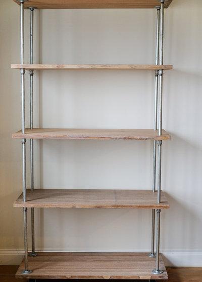diy regal bauen aus rohren so einfach geht 39 s. Black Bedroom Furniture Sets. Home Design Ideas
