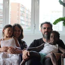 Visita privada: El piso de una familia multicultural en Madrid