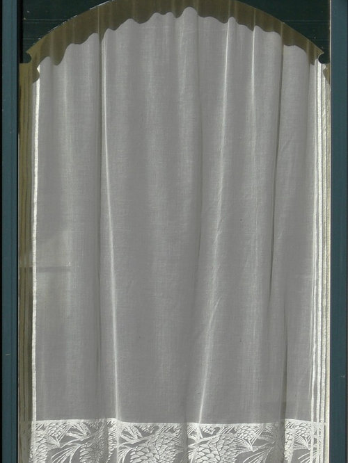 Bungalow Arts And Crafts Lace Curtains