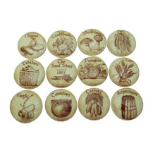 """Set of 12 Vintage Style Seed Store Cabinet Knobs, 1.5"""" - The seed ..."""