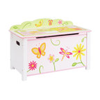 Nantucket Storage Bench Pastel Contemporary Toy