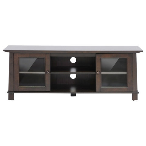 Havana Brown Wood TV Stand, Plasma - Entertainment Centers And Tv Stands - by Imtinanz, LLC