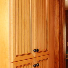 Farmhouse Pantry Cabinets   Houzz