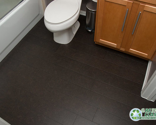 Cork flooring bathroom